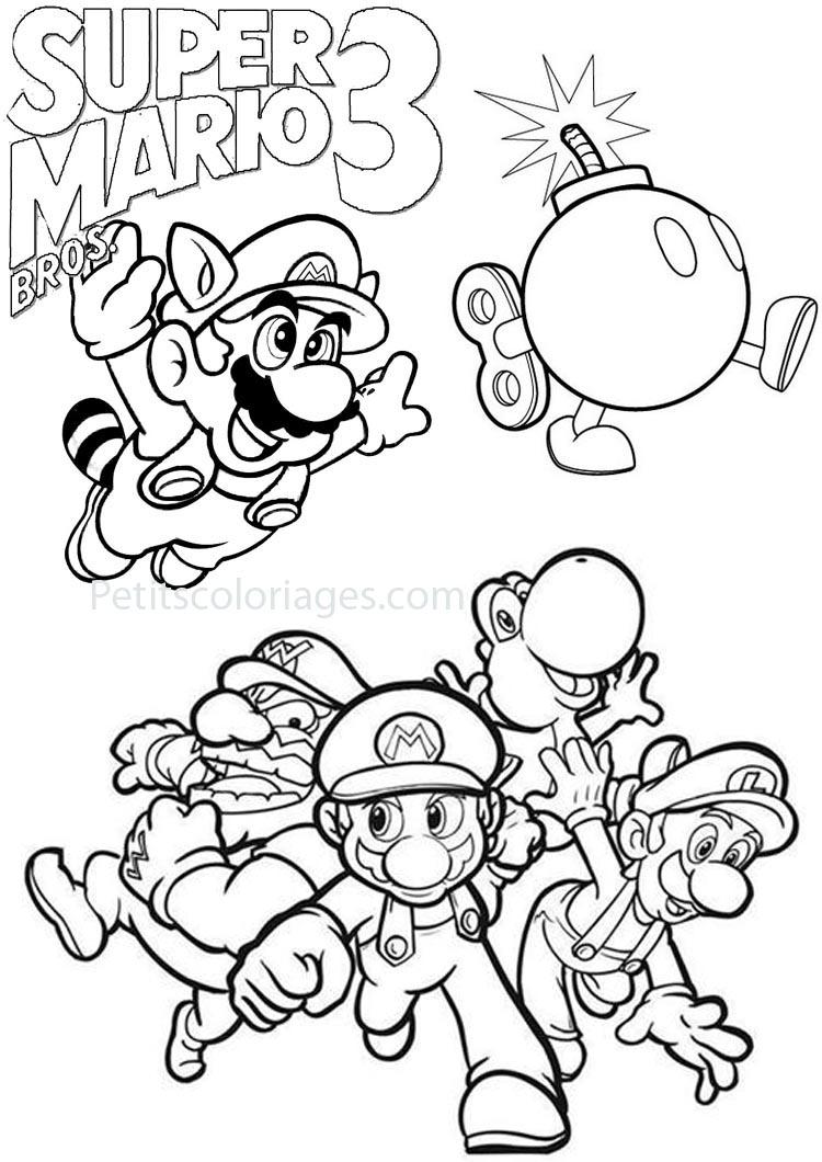Sonic et Luigi Coloriage de Mario et Sonic
