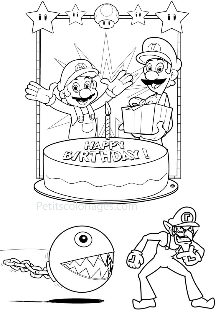 index of coloriages categories mario coloriages