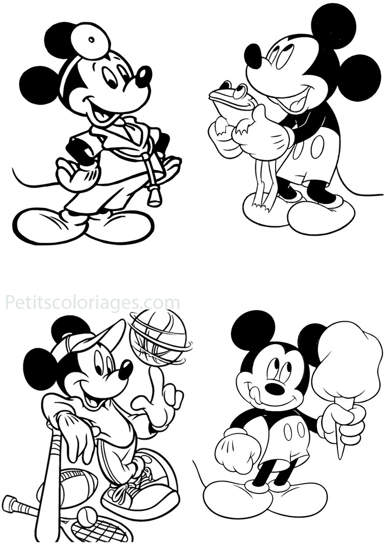 index of coloriages categories mickey coloriages